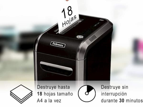 destructora de papel Fellowes 99Ci precio